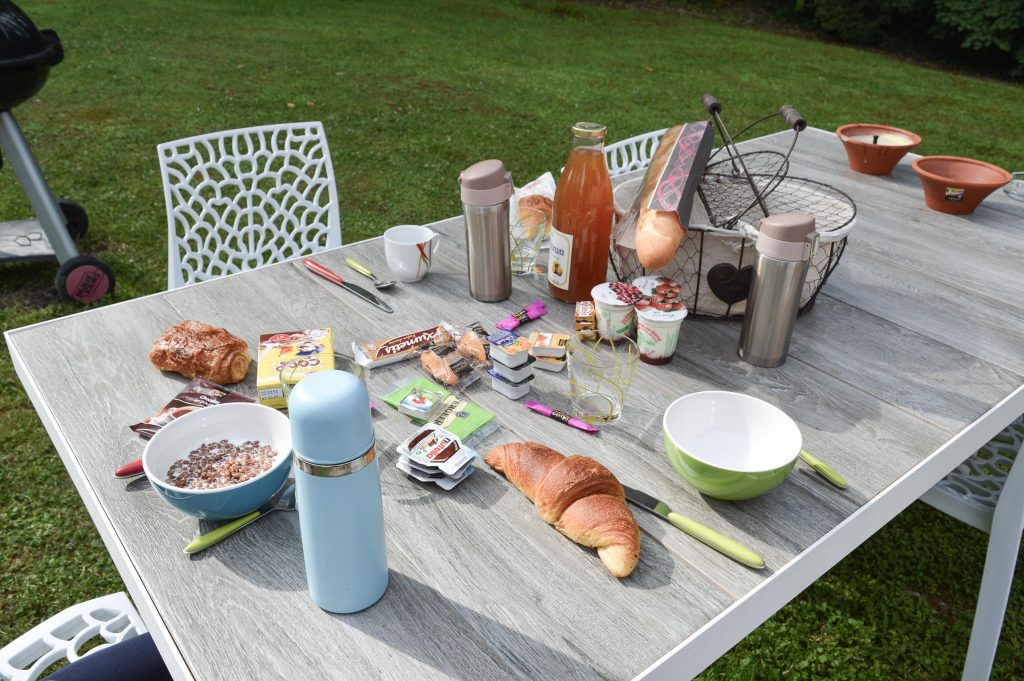 Bienvenue chez Vro - Mon week-end slowmoov aux roulottes de la Champagne - Petit déj