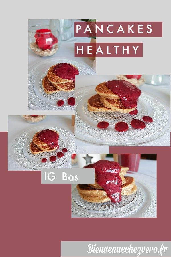 Comment réaliser de délicieux Pancakes Healthy IG Bas - Bienvenue chez vero