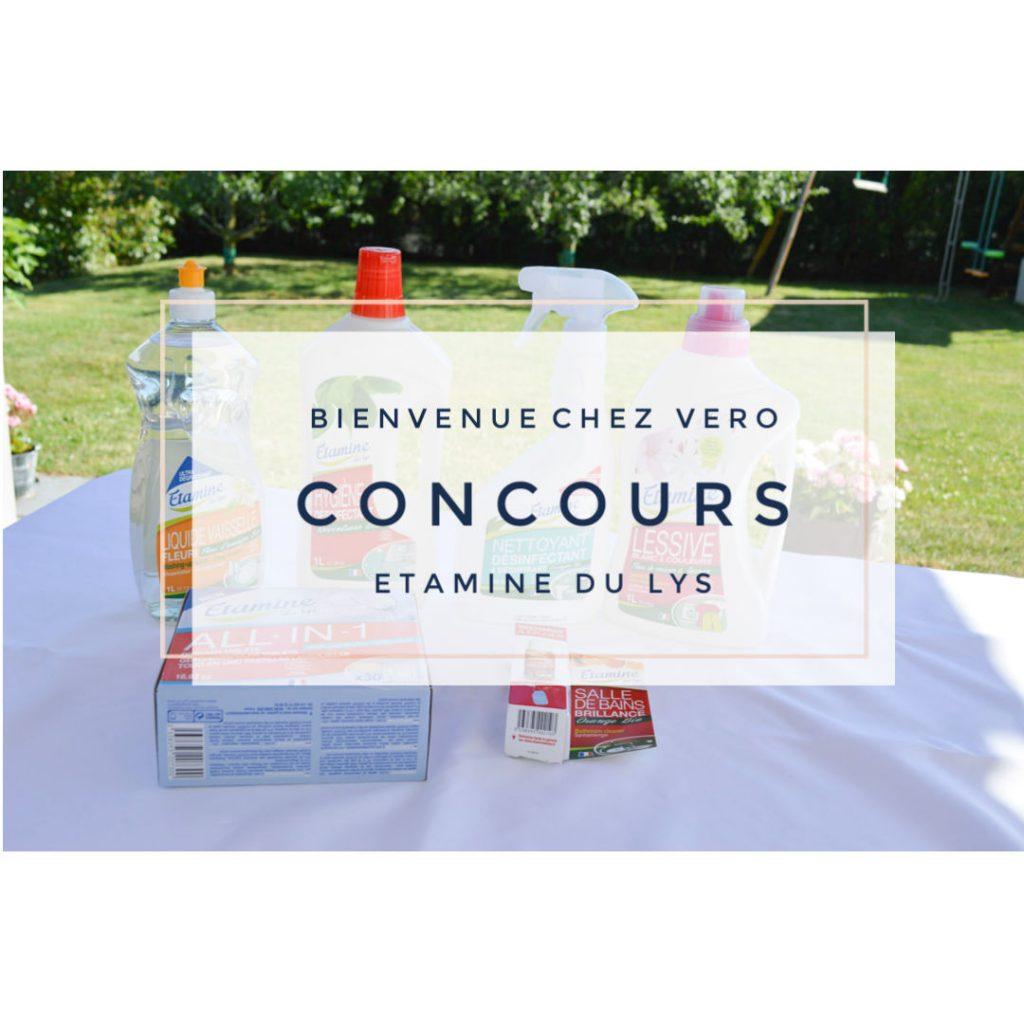etamine du Lys - CONCOURS - Bienvenue chez vero