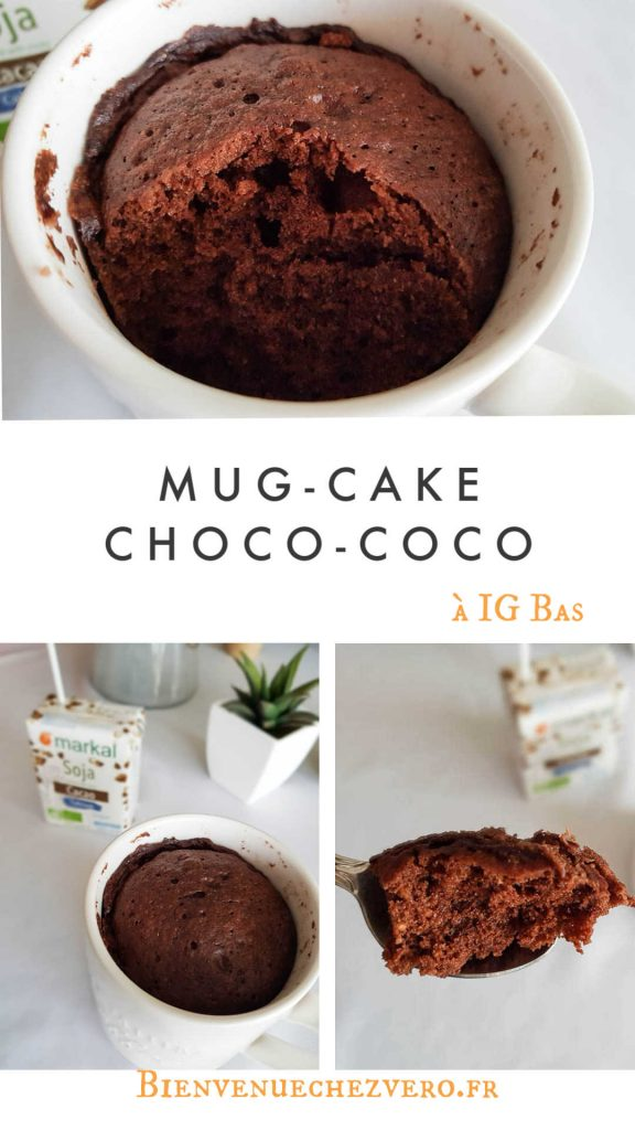 Mug-cake Choco-coco IG Bas - Bienvenue chez Vero - Pint It