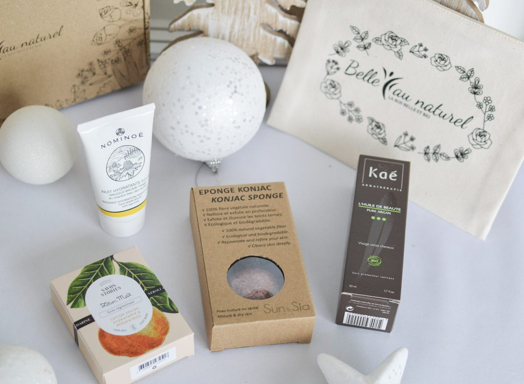 Place à la Féérie de Noel avec la box Belle au Naturel - Bienvenue chez Vero - Découverte des produits