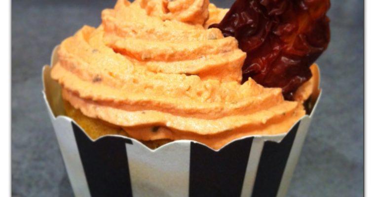 Cupcakes à la tomate séchée