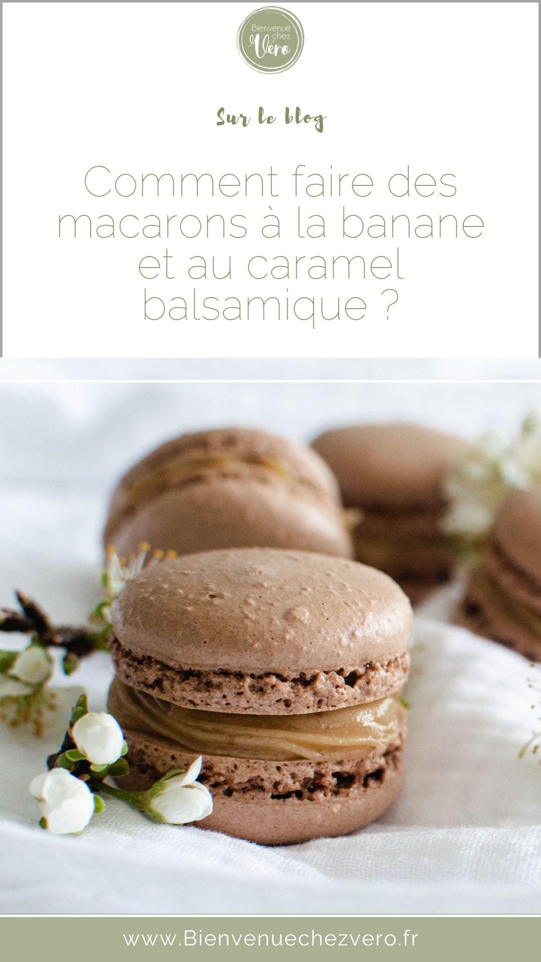 Macarons-banane-caramel-balsamique