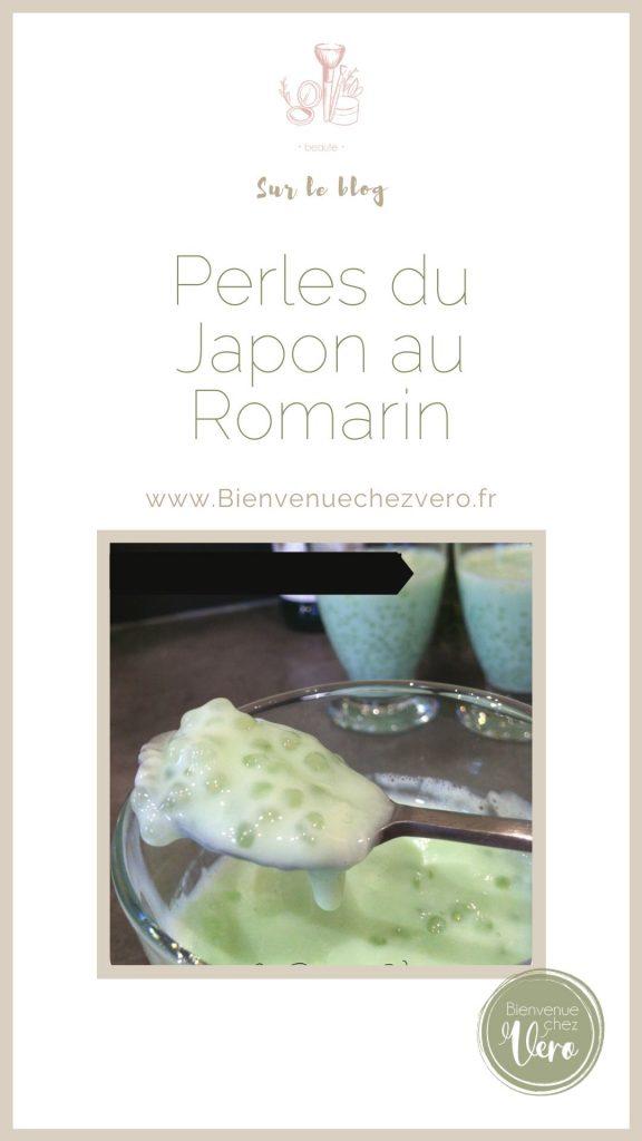 perles du japon au romarin