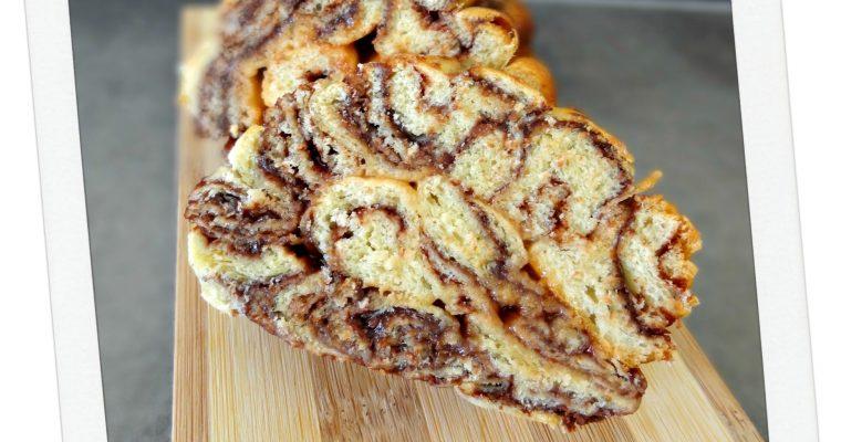 Brioche tout en spirale au chocolat – Nocciolata