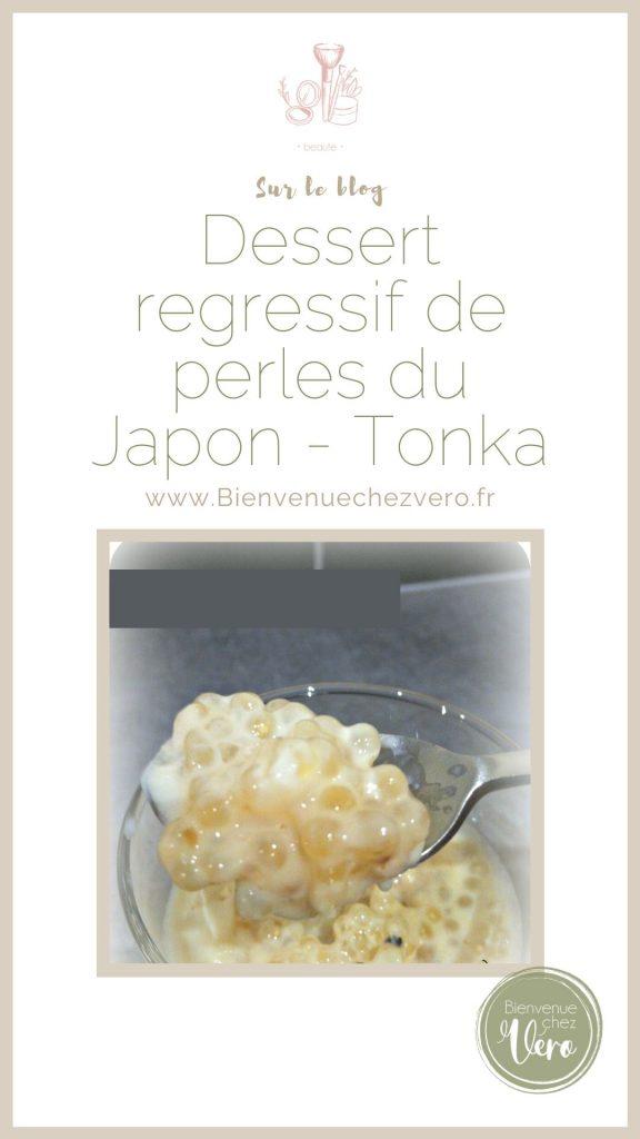 Perles du japon à la fève tonka