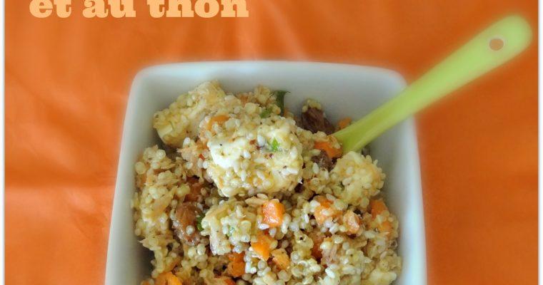 Salade de quinoa aux carottes et au thon