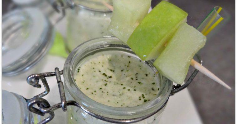 Comment réaliser un gaspacho concombre pomme ?