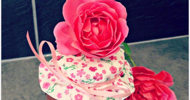Gelée de roses {Les Blogueuses culinaires en faveur de la lutte contre le cancer du sein}