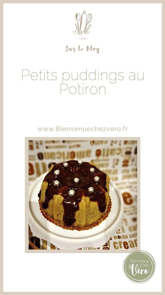 Petits puddings au Potiron