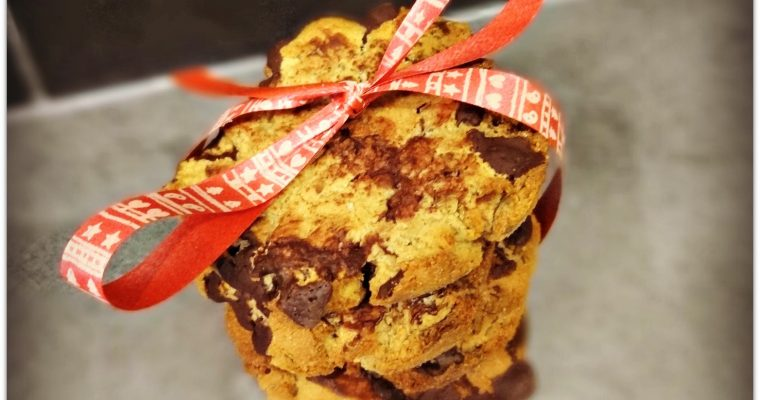 Cookies au chocolat pour un goûter sain