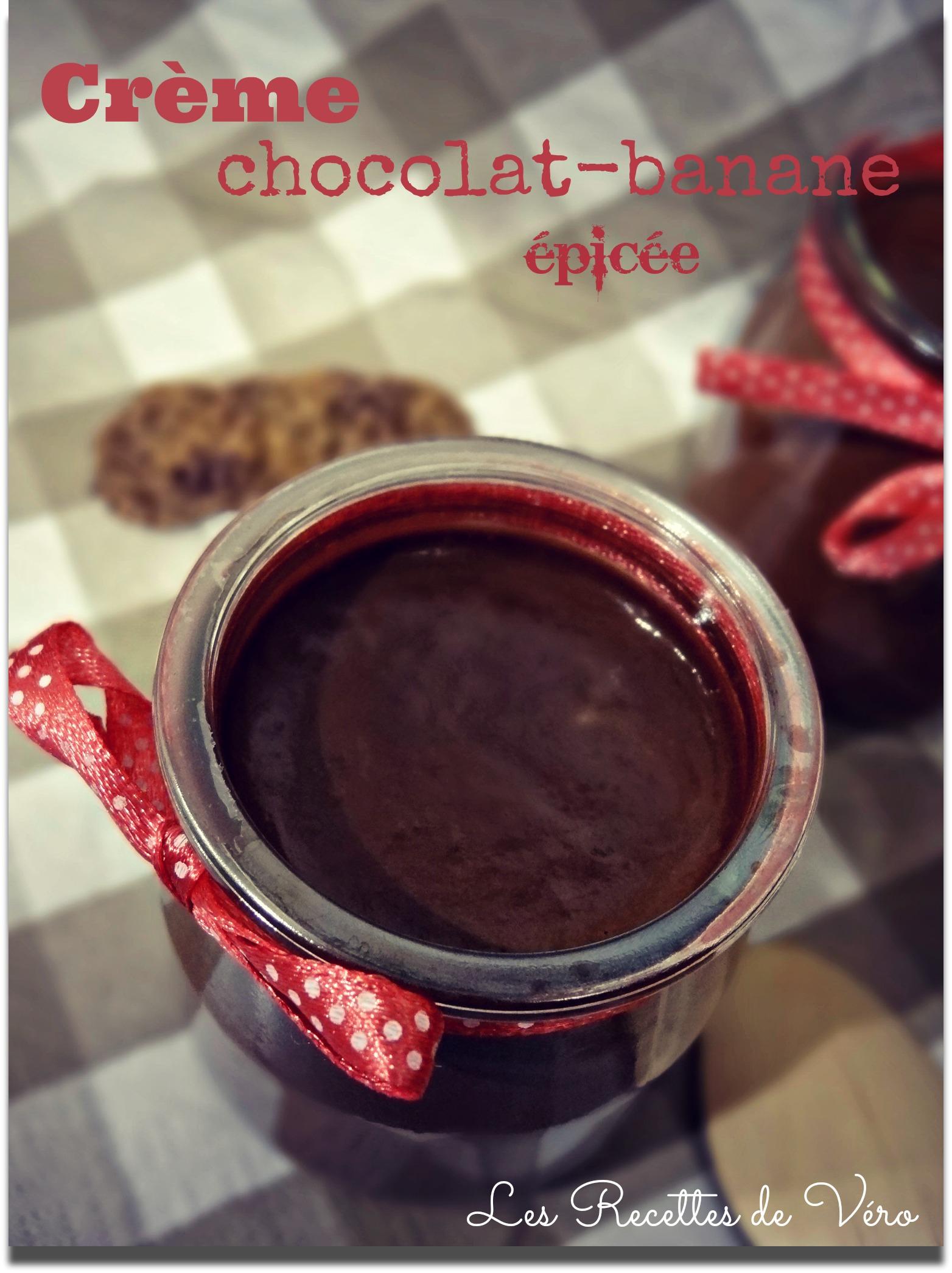 pots de crèmes chocolat-banane épicées