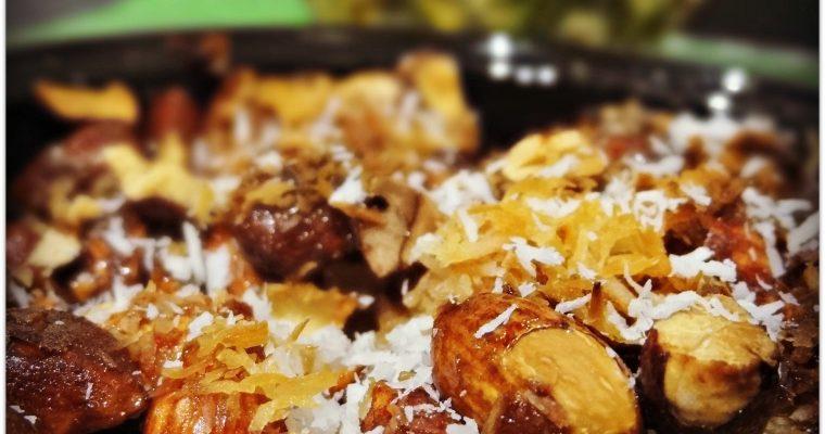 Gratin ananas et noix de coco gourmand