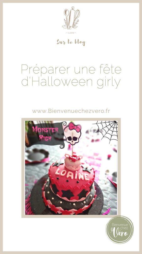 Préparer une fête girly pour Halloween