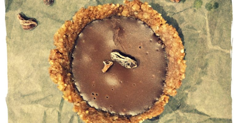 Tartelettes Chocolat Ylang-Ylang (sans gluten et sans lait)