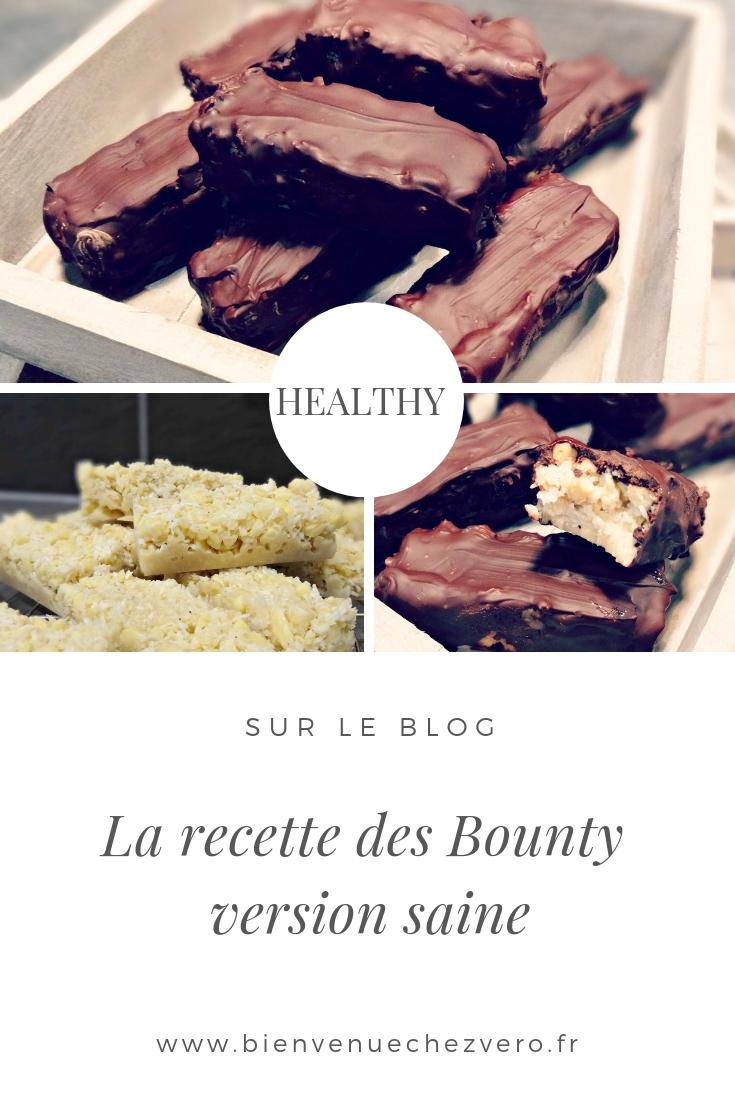 La recette des Bounty healthy