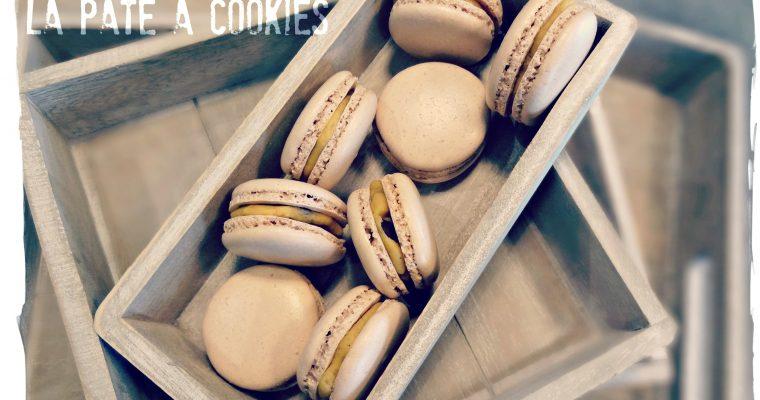 Macarons à la pâte à cookies
