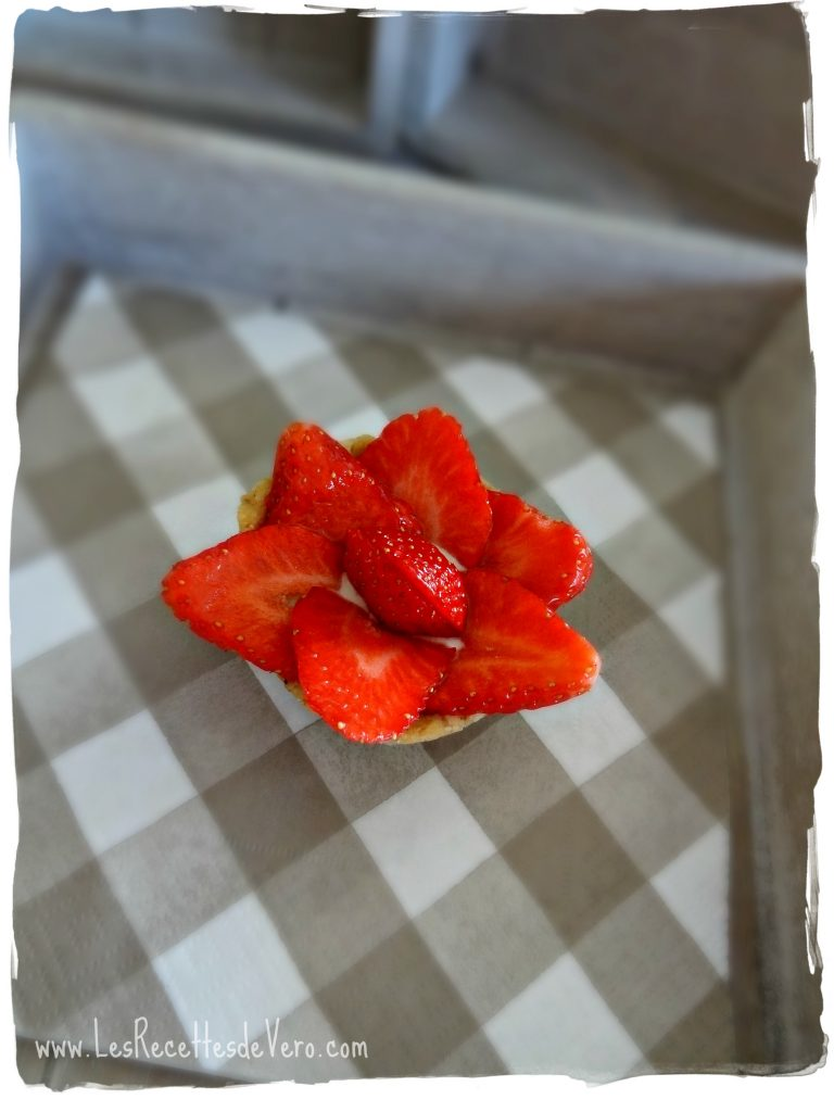 Tartelettes aux fraises sans gluten et sans lait
