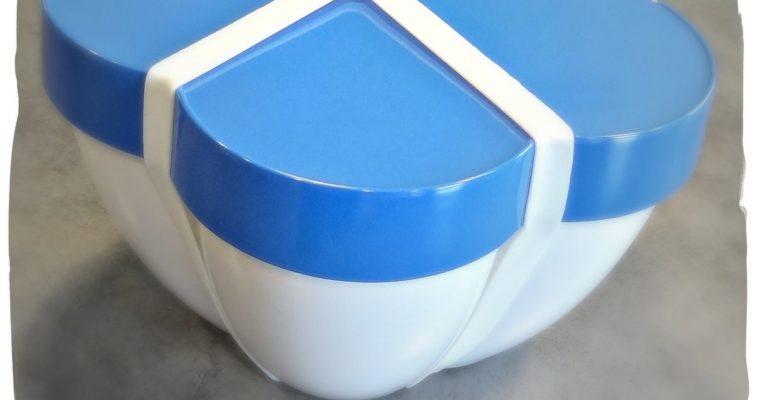 Saladier bleu by Olivia Putman – Flor (Cookut)