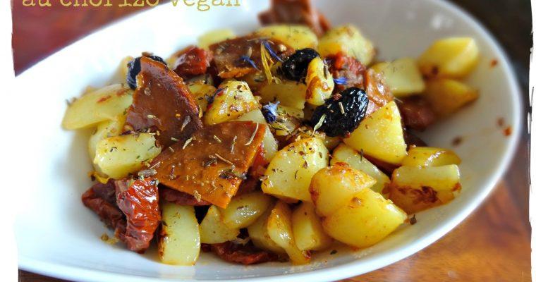 Poêlée de pommes de terre au chorizo vegan