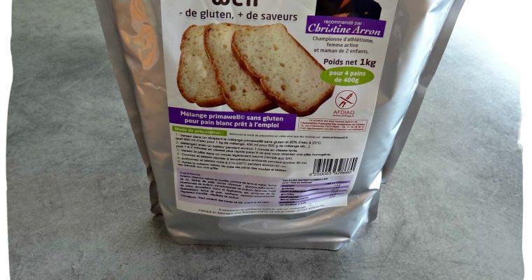 Mélange sans gluten pour pain blanc