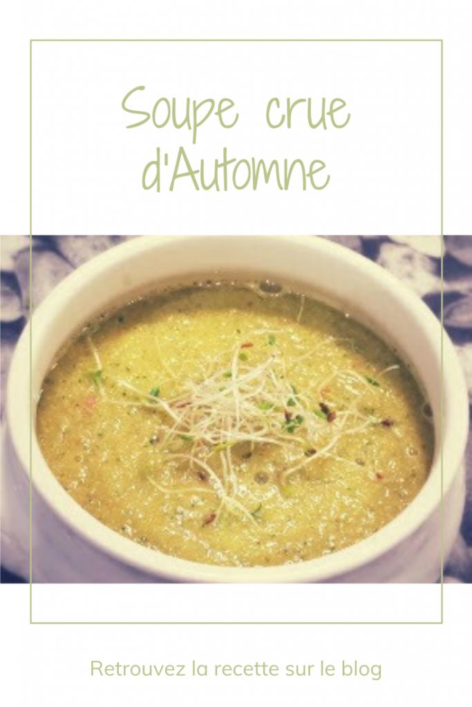 Soupe crue d'automne - Recette rapide vitaminée (2)