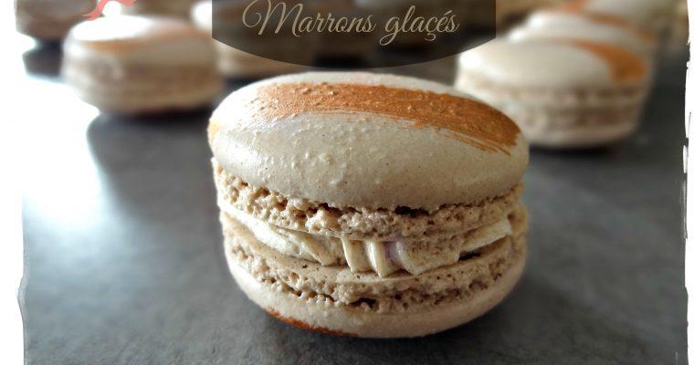 Macarons marrons glacés (C. Felder)