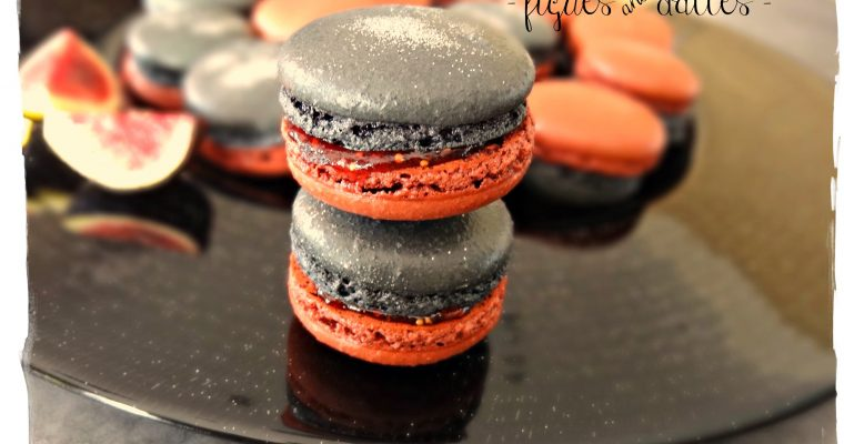Macarons Louboutin – Figues & dattes