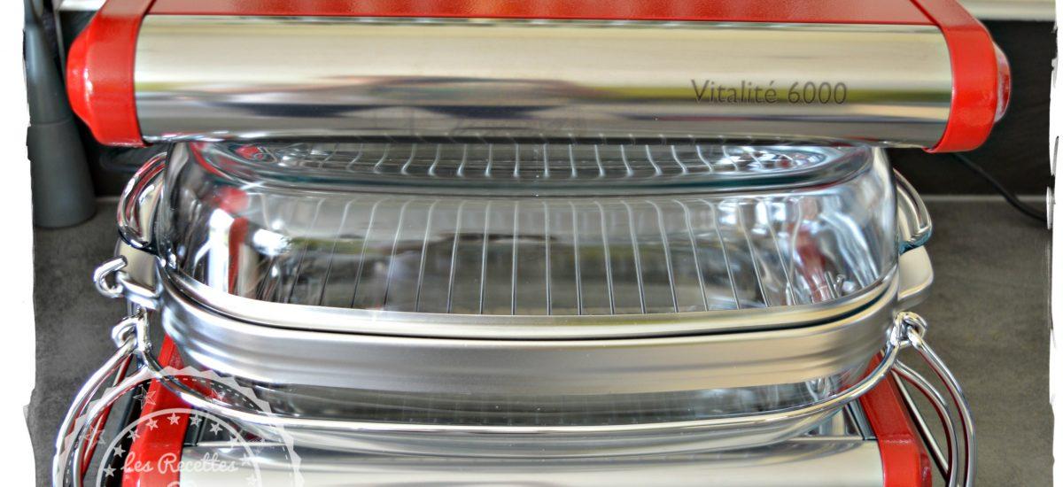 Omnicuiseur Vitalité - Four vapeur qui va révolutionner ma cuisine