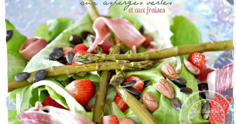 Salade printanière aux asperges vertes et aux fraises – Omnicuiseur