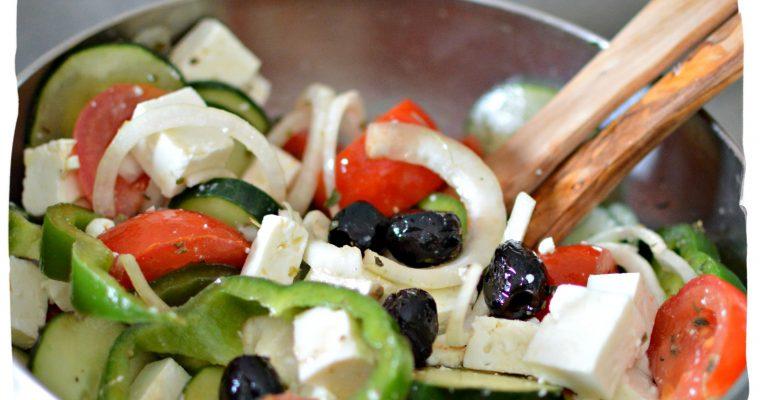 Salade grecque – Salata Horiatiki A'