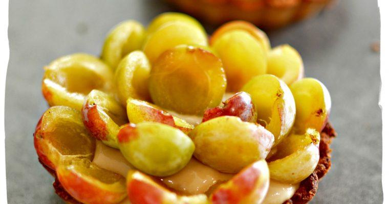 Tartelettes aux mirabelles – sans gluten sans lait