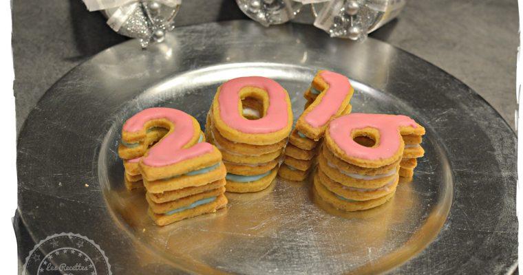 Les sablés de la nouvelle année