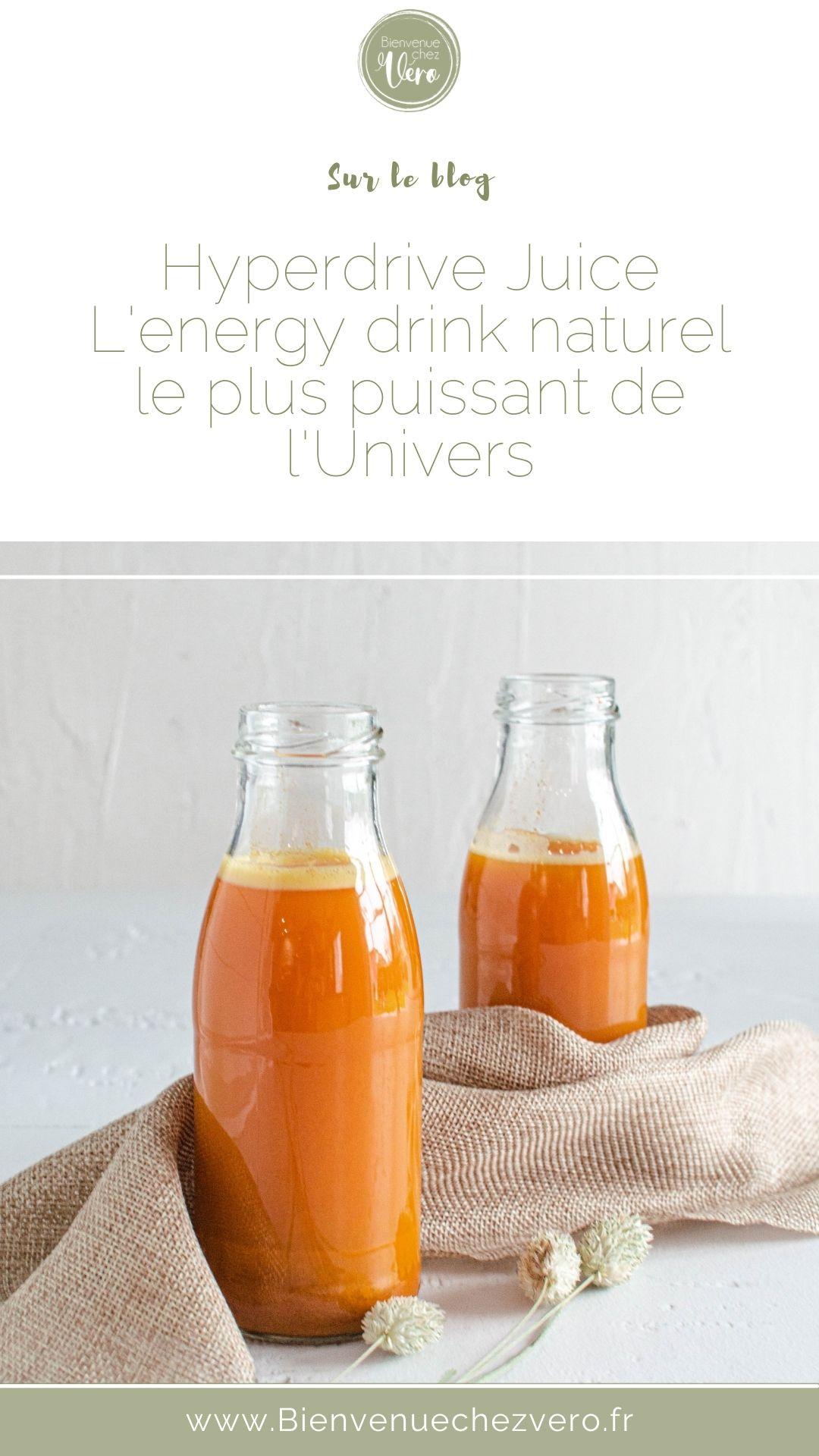 Energy drink naturel