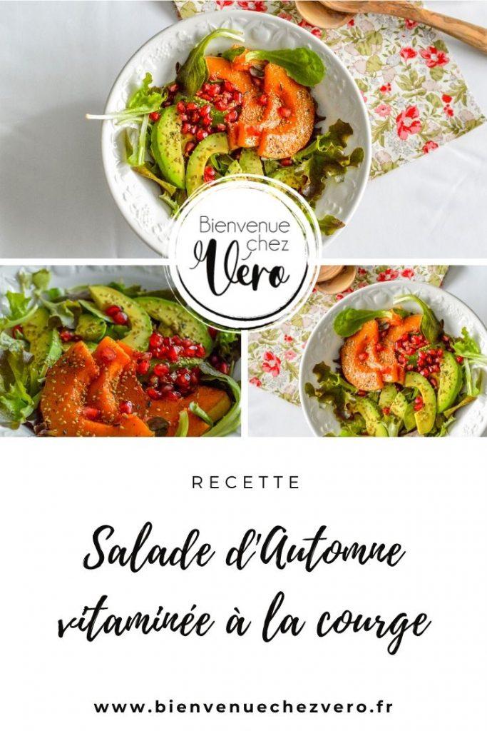 Salade d'Automne vitaminée à la courge - Recette - Bienvenue chez vero