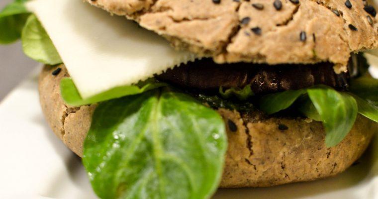 Burger végétarien sans gluten