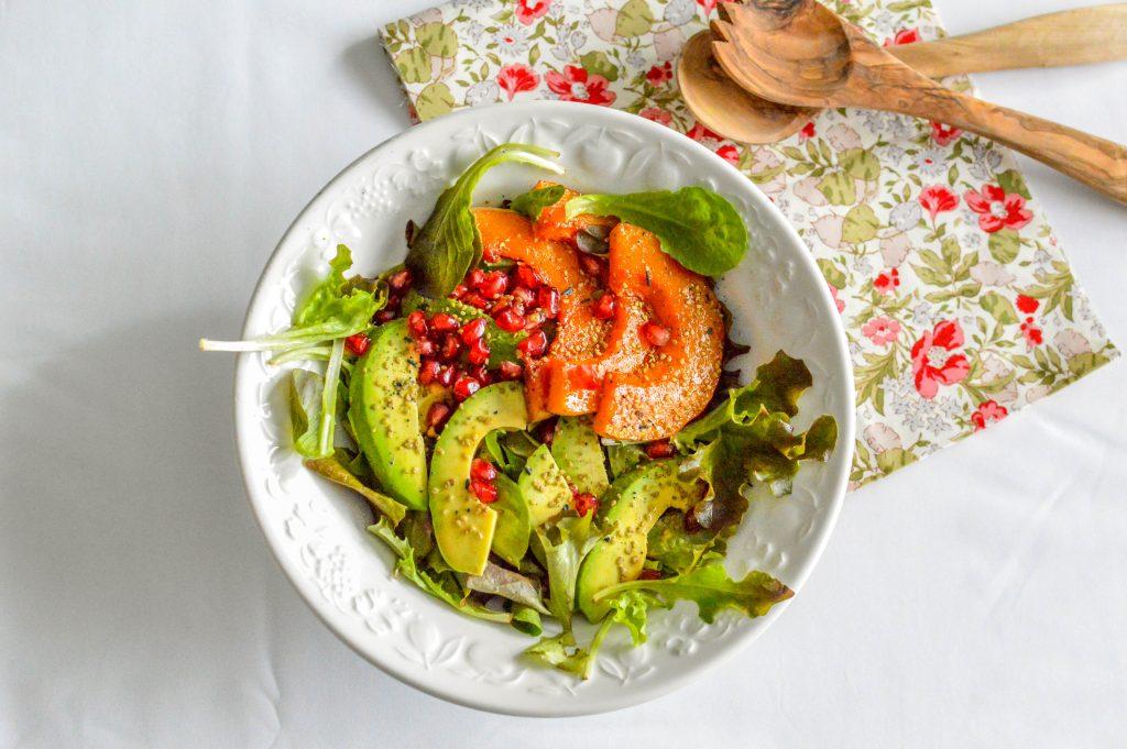 BIENVENUE CHEZ VERO - Salade d'Automne vitaminée courge