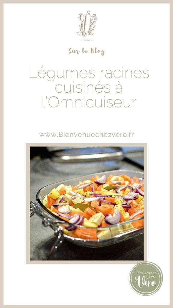Légumes racines cuisinés à l'Omnicuiseur