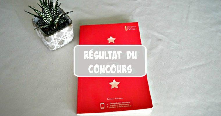 """Résultat du concours """"Le secret du poids"""""""