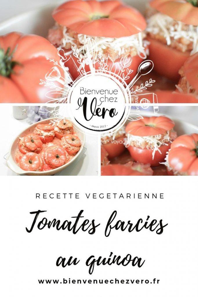 Tomates farcies au quinoa - PIN IT