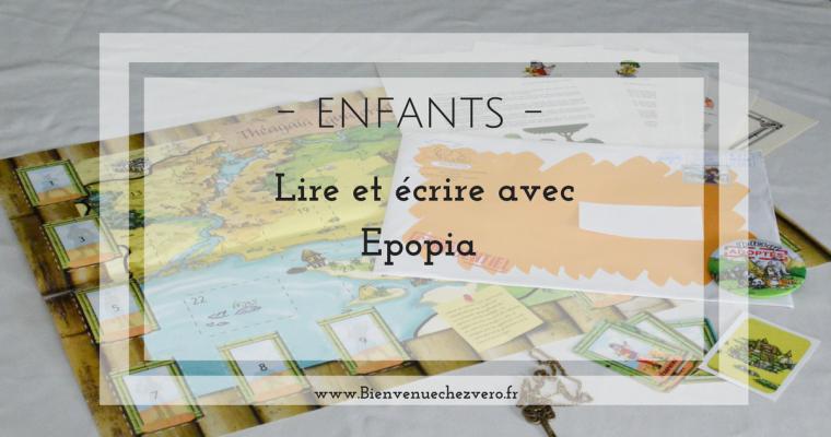 Enfants – Lire et écrire avec Epopia