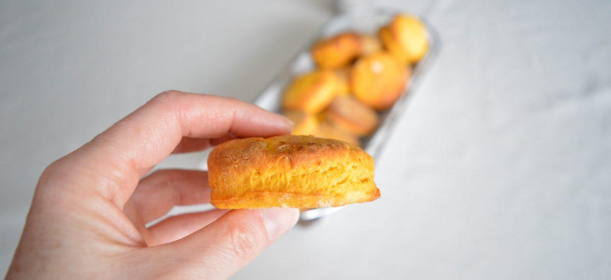 Petits pains végétariens à la patate douce