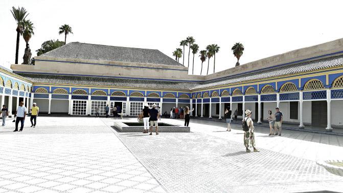 Le palais Bahia – Marrakech