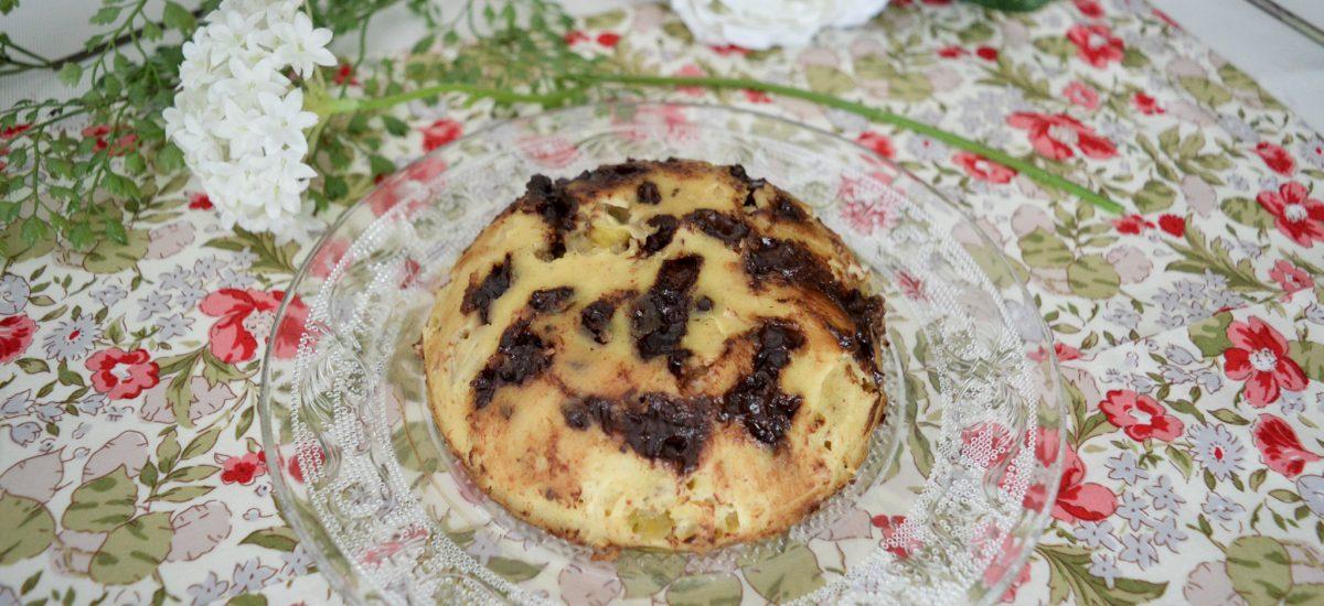 Bowlcake Banane Chocolat vegan