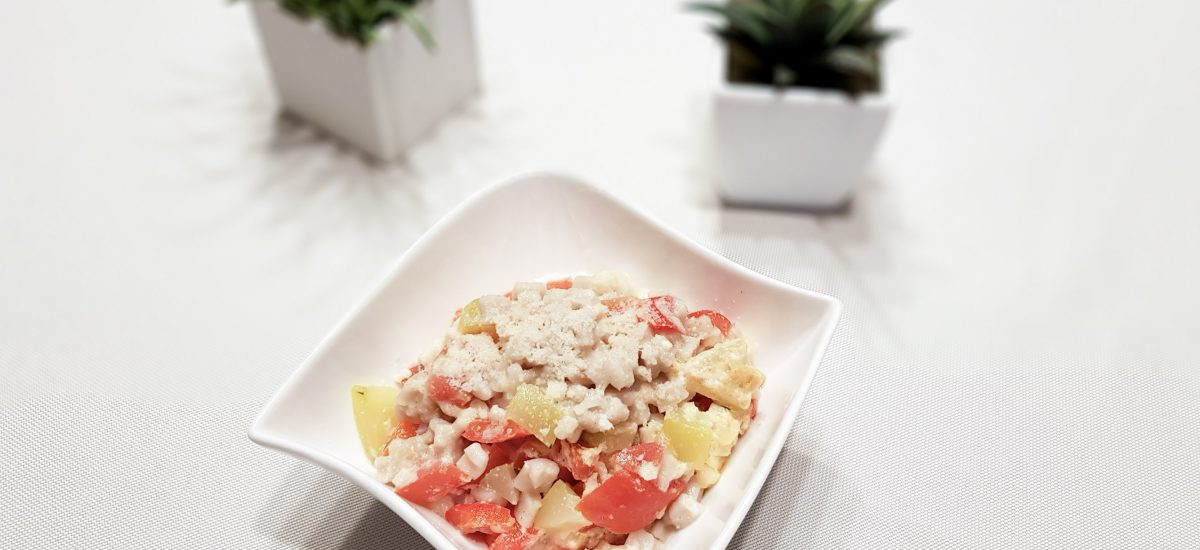Crozets aux légumes – Cuisson à la vapeur douce [OMNICUISEUR]