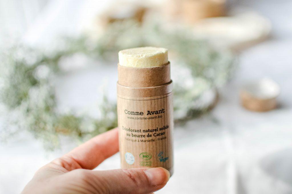 Stick naturel solide au beurre de cacao
