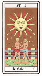 Bienvenue chez Vero - Calendrier tarot * Le soleil