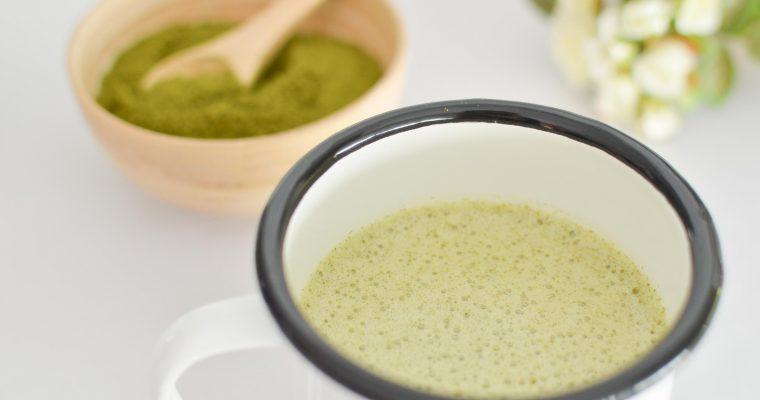 Matcha & Moringa Latte à IG Bas