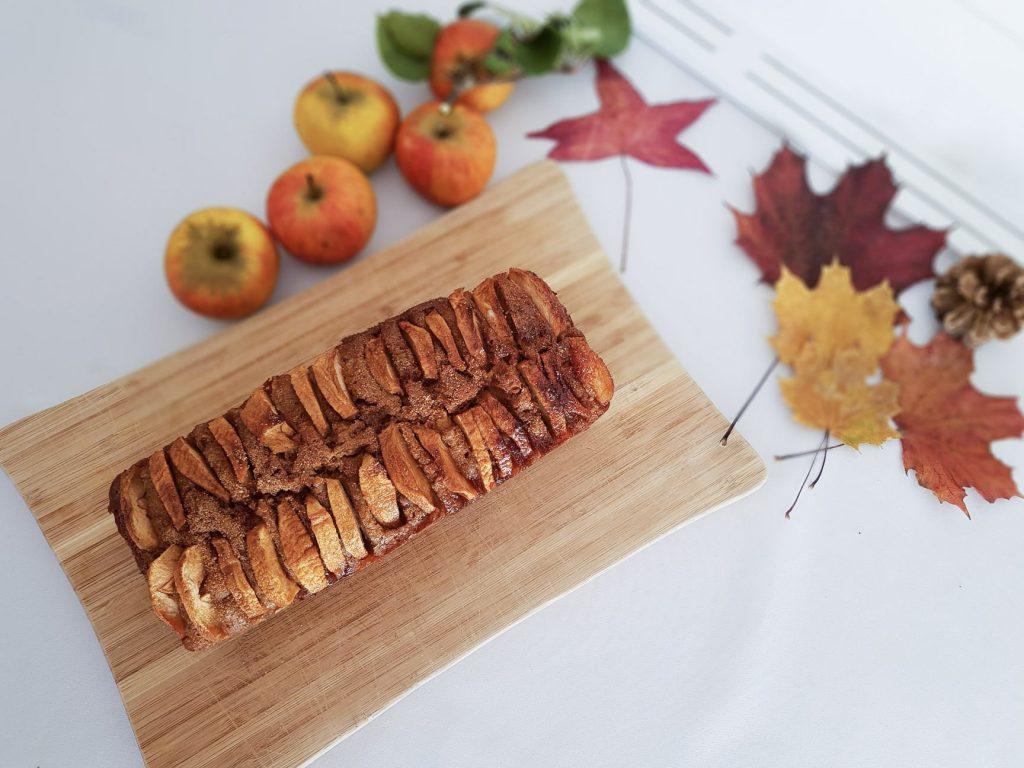 Cake aux pommes IG Bas - Bienvenue chez vero Vue du dessus