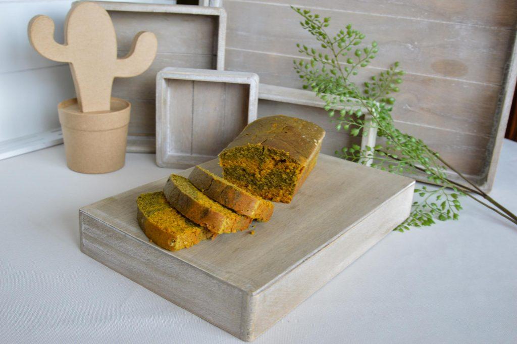 Cake marbré matcha curcuma IG Bas - Omnicuiseur - Bienvenue chez vero
